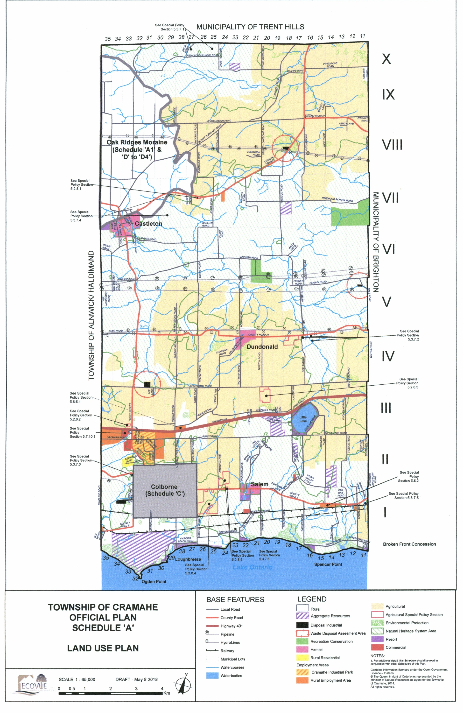 Township of Cramahe Official Plan (draft)