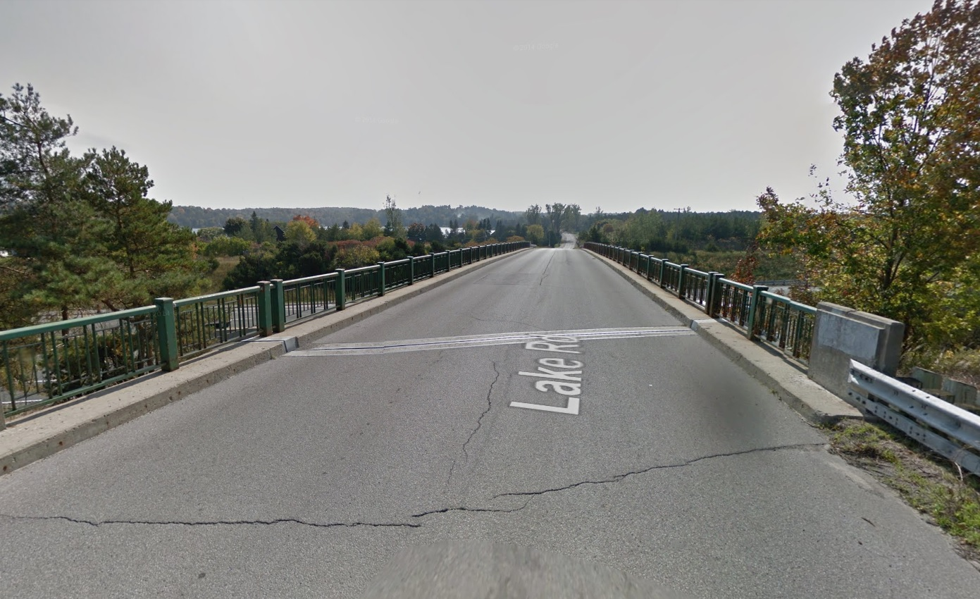 Lake Road Bridge Over 401